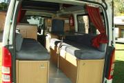 Advance Campervan Rental The Weekender - 3 berth Campervan worldwide motorhome and rv travel