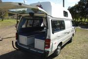 Advance Campervan Rental The Weekender - 3 berth Campervan