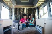 Britz Campervan Rentals (Intl) 2 / 3 Berth - Venturer Plus new zealand airport campervan hire