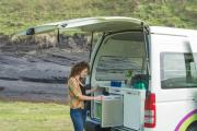 JUCY Coaster campervan hire - new zealand
