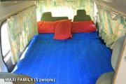 Driveabout Campers 5 Seater Maxi Camper Family campervan rental cairns