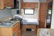 Camper1 Alaska 24ft Class C Conquest 6255 Copper motorhome rental alaska