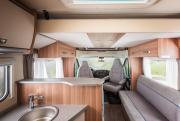 Bunk Campers Europa motorhome rental united kingdom