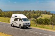 Cheapa 4 Berth new zealand airport campervan hire