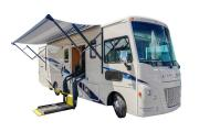 Compass Campers Canada Class A 30 ft (Wheel Chair Accessible) worldwide motorhome and rv travel