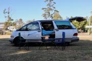 Awesome Deluxe Camper campervan hire - australia