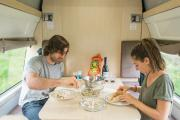 Britz Campervan Rentals (Intl) 4 Berth Voyager motorhome rental new zealand