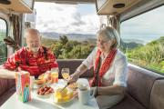 Maui Motorhomes NZ 2+1 Berth Ultima Plus new zealand airport campervan hire