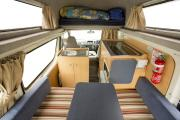Hippie Camper NZ Domestic Hippie Hitop campervan rental new zealand