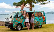 Escape Rentals New Zealand Certified Self-Contained Escape Campervan campervan rental new zealand