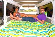 Escape Rentals New Zealand Certified Self-Contained Escape Campervan motorhome rental new zealand