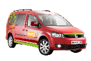 Happy Campers Happy 1-VW Caddy or similar Auto worldwide motorhome and rv travel