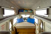 Hippie Camper NZ Domestic Hippie Endeavour Camper new zealand airport campervan hire