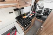 Landcruise Motorhome Hire Swift Select 122 motorhome rental uk