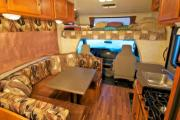 Camper1 Alaska 23ft Class C Freelander Silver motorhome rental anchorage