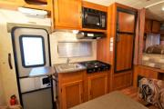 Camper1 Alaska 23ft Class C Freelander Silver rv rental usa