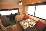 Apollo Motorhomes NZ Domestic 4 Berth Euro Camper nz motorhome rental