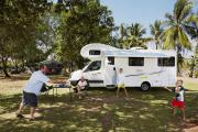 Apollo Motorhomes NZ Domestic 4 Berth Euro Camper campervan rental new zealand