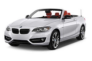 BMW 2 Series Convertible (INC GPS) car hire australia