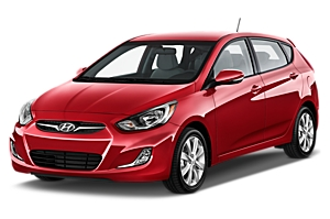 Hyundai Accent Hatch or similar car hire australia