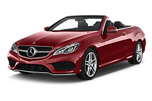 Mercedes E Class Cabrio uk car hire