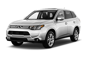 Mitsubishi Outlander or similar victoria car rental