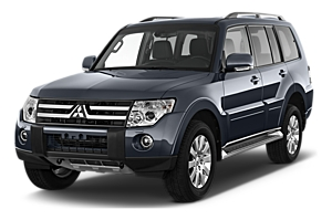 Mitsubishi Pajero 4x4 or similar car hiremelbourne