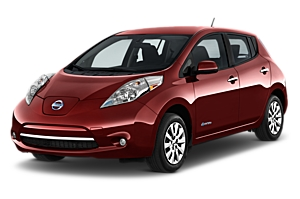 Nissan Leaf Electric Auto or similar uk car hire