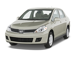 Nissan Tiida Sedan car hirenew zealand