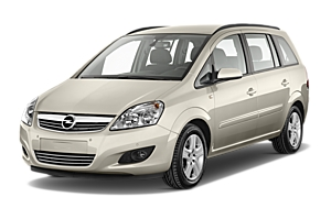 Vauxhall Zafira or similar uk car hire