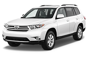 Toyota Kluger or similar car hiretasmania