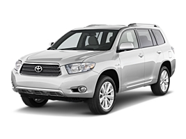 Toyota Highlander or similar car hirenew zealand