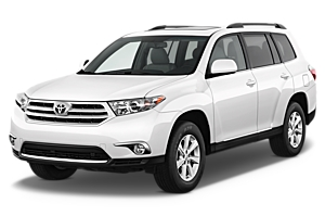 Group H - Toyota Highlander 4WD or similar car hirenew zealand