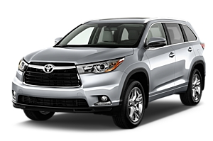 Toyota Kluger or similar 4x4 car hire - australia