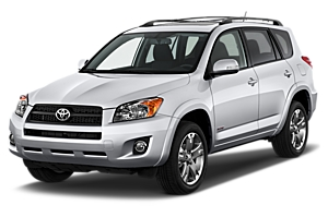 Toyota RAV 4 or similar car hirenew zealand