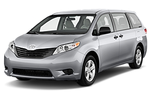 Toyota Tarago or similar car hire australia