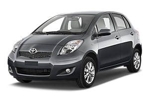 Toyota Yaris 5 door or similar car hire - australia