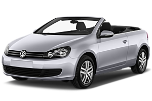 VW Golf Cabrio or similar uk car hire