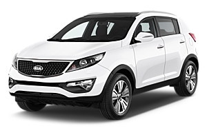 KIA Sportage - Free GPS, Make & Model Guaranteed uk car hire