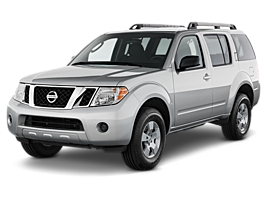 Nissan Pathfinder or similar malaga car rental
