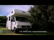 Compass Campers New Zealand Budget 4-Berth new zealand camper van hire