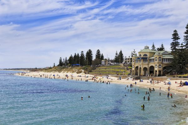 Cottesloe Beach is the best place to stay for beach holidays in Perth.