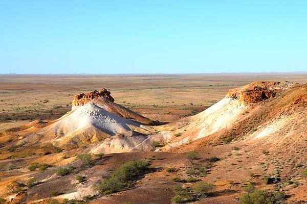 Breakaways Conservation Park in Coober Pedy, Australia