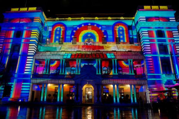 Vivid Sydney uses the city's architecture as a giant canvas for astoundingly artful works of light.