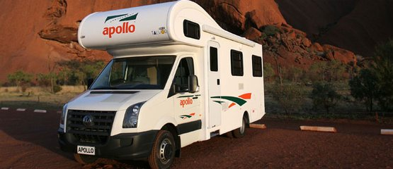 Apollo Motorhomes AU International: Apollo: 5% de réduction pour les réservations anticipées!