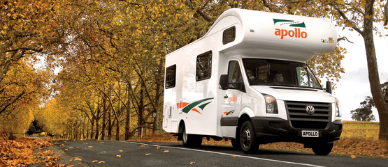 Apollo Motorhomes NZ International: Early Bird 5% Apagado