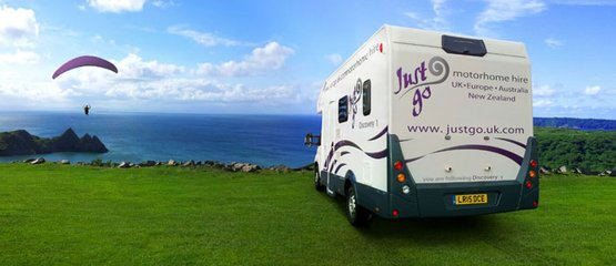Just Go Motorhomes UK: 10% Long Hire Rabatt
