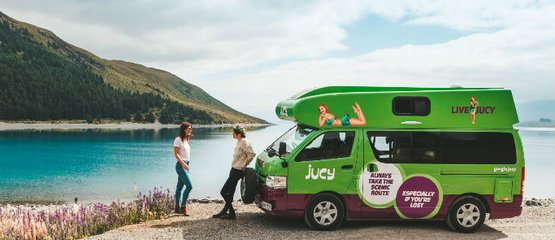 Jucy Campervan Rentals NZ: Nothing over $99 per day!