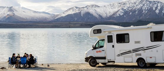 Apollo Motorhomes NZ Domestic: 5% vroegboekkorting